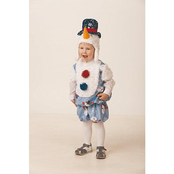 Карнавальный костюм Снеговичок Снежник  Jeanees для мальчикаКарнавальные костюмы для мальчиков<br>Карнавальный костюм Снеговичок Снежник  Jeanees для мальчика<br>Карнавальный костюм (маска, жилет, шорты.)<br>Состав:<br>Полиэстр 100%<br><br>Ширина мм: 450<br>Глубина мм: 80<br>Высота мм: 350<br>Вес г: 250<br>Возраст от месяцев: 48<br>Возраст до месяцев: 60<br>Пол: Мужской<br>Возраст: Детский<br>Размер: 110,104<br>SKU: 7224524