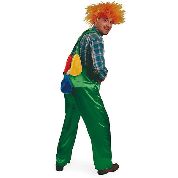 Карнавальный костюм Карлсон Батик для мальчикаКарнавальные костюмы для мальчиков<br>Характеристики:<br><br>• возраст: от 16 лет<br>• комплектация: брюки яркого зеленого цвета на лямках с разноцветным пропеллером, парик с растрепанными волосами оранжевого цвета<br>• материал: текстиль<br>• сезон: круглый год<br>• особенности модели: для праздника<br><br>Эффектный карнавальный костюм «Карлсон» комфортно сидит благодаря продуманному крою и качественному материалу. Костюм отлично подойдет для детских утренников, спектаклей или костюмированных вечеринок.<br><br>Карнавальный костюм Карлсон Батик для мальчика можно купить в нашем интернет-магазине.<br><br>Ширина мм: 450<br>Глубина мм: 80<br>Высота мм: 350<br>Вес г: 250<br>Цвет: зеленый<br>Возраст от месяцев: 204<br>Возраст до месяцев: 1188<br>Пол: Мужской<br>Возраст: Детский<br>Размер: 182<br>SKU: 7224544