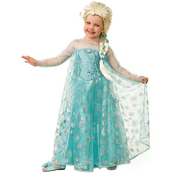 Карнавальный костюм Эльза Батик для девочкиНовинки для праздника<br>Карнавальный костюм Эльза Батик для девочки<br>Карнавальный костюм (платье, парик, брошь)(текстиль)<br>Состав:<br>Полиэстр 100%<br><br>Ширина мм: 450<br>Глубина мм: 80<br>Высота мм: 350<br>Вес г: 250<br>Возраст от месяцев: 48<br>Возраст до месяцев: 60<br>Пол: Женский<br>Возраст: Детский<br>Размер: 110,116<br>SKU: 7224557