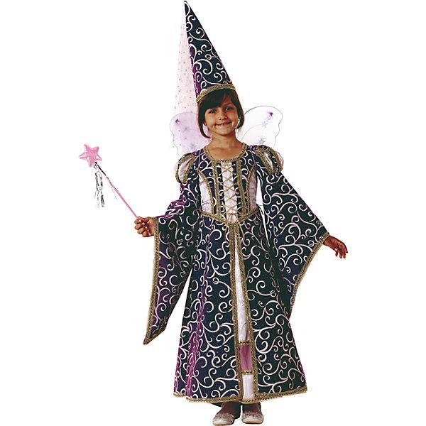 Карнавальный костюм Фея Лиловая Батик для девочкиНовинки для праздника<br>Карнавальный костюм Фея Лиловая Батик для девочки<br>Карнавальный костюм (платье, колпак со шлейфом,набор феи) <br>Состав:<br>Полиэстр 100%<br><br>Ширина мм: 450<br>Глубина мм: 80<br>Высота мм: 350<br>Вес г: 250<br>Возраст от месяцев: 72<br>Возраст до месяцев: 84<br>Пол: Женский<br>Возраст: Детский<br>Размер: 122,140,128<br>SKU: 7224595