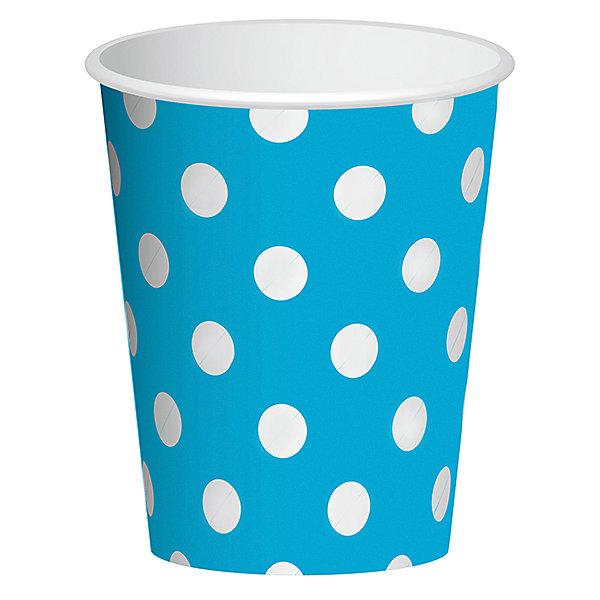 F 250мл Стаканы бумажные Горошек Голубой 6штНовинки для праздника<br>Характеристики:<br><br>• возраст: от 3 лет;<br>• тип игрушки: стаканы;<br>• количество: 6 шт;<br>• объем: 250 мл;<br>• цвет: голубой;<br>• вес: 38  гр;<br>• размеры: 7,5х13х24,5 см;<br>• материал: бумага;<br>• бренд: Патибум;<br>• страна производитель: Россия.<br><br>Стаканы бумажные «Горошек Голубой» 6шт подойдут для организации детской вечеринки, дня рождения и других праздников. Стаканы выполнены из бумаги и имеют объем 250 мл. Они имеют расцветку в крупный горошек. Данные тарелки входят в состав коллекции праздничной одноразовой посуды «Горошек Голубой» и лучше всего их использовать для сервировки праздничного стола вместе с другими элементами из этой коллекции.<br><br>Изделия выполнены из качественных материалов, предназначенных для детей возрастом от трех лет. Такая посуда в виде стаканчиков станет отличным дополнением праздничного настроения. А эта  расцветка понравится и мальчикам, и девочкам.<br> <br>Стаканы бумажные «Горошек Голубой» 6шт можно купить в нашем интернет-магазине.<br><br>Ширина мм: 75<br>Глубина мм: 130<br>Высота мм: 245<br>Вес г: 38<br>Возраст от месяцев: 36<br>Возраст до месяцев: 2147483647<br>Пол: Унисекс<br>Возраст: Детский<br>SKU: 7224698
