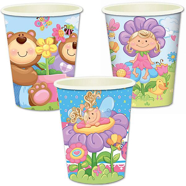F 250мл Стаканы бумажные Детская коллекция 6штСтаканы<br>Характеристики:<br><br>• возраст: от 3 лет;<br>• тип игрушки: стаканы;<br>• количество: 6 шт;<br>• объем: 250 мл;<br>• вес: 37  гр;<br>• размеры: 7,5х13х24,5 см;<br>• материал: бумага;<br>• бренд: Патибум;<br>• страна производитель: Россия.<br><br>Стаканы бумажные «Детская коллекция» 6шт подойдут для организации детской вечеринки, дня рождения и других праздников. Стаканы выполнены из бумаги и имеют объем 250 мл. На них изображены яркие картинки. Данные стаканы входят в состав коллекции праздничной одноразовой посуды «Детская коллекция» и лучше всего их использовать для сервировки праздничного стола вместе с другими элементами из этой коллекции (тарелочки, скатерть и карнавальные аксессуары коллекции). <br><br>Изделия выполнены из качественных материалов, предназначенных для детей возрастом от трех лет. Такая посуда в виде стаканчиков станет отличным дополнением праздничного настроения. А эта  расцветка понравится и мальчикам, и девочкам. <br><br>Стаканы бумажные «Детская коллекция» 6шт можно купить в нашем интернет-магазине.<br>Ширина мм: 75; Глубина мм: 130; Высота мм: 245; Вес г: 37; Возраст от месяцев: 36; Возраст до месяцев: 2147483647; Пол: Унисекс; Возраст: Детский; SKU: 7224703;