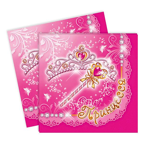 F 33см X 33см Салфетки Моя Принцесса 12штНовинки для праздника<br>Бумажные салфетки из яркого набора Моя принцесса в сочетании с другими элементами коллекции: тарелками, стаканами и скатертью станут красивым дополнением декора праздничного стола. Милый дизайн будет прекрасно смотреться во время празднования детского Дня рождения. В упаковке 12 красивых салфеток размером 33х33 см.<br><br>Ширина мм: 100<br>Глубина мм: 185<br>Высота мм: 240<br>Вес г: 63<br>Возраст от месяцев: 36<br>Возраст до месяцев: 2147483647<br>Пол: Женский<br>Возраст: Детский<br>SKU: 7224722