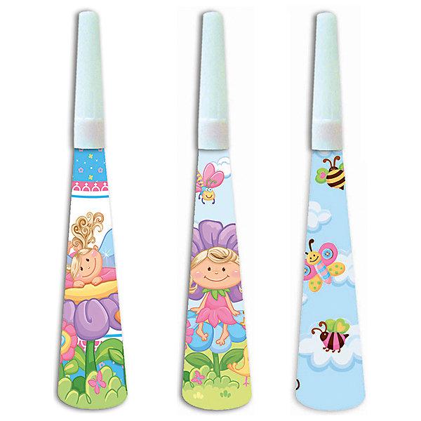 F Горн Детская коллекция 6штДетские дудочки<br>Музыкальная игрушка - горн. Данная игрушка является карнавальным аксессуаром в праздничной коллекции одноразовой посуды Детская коллекция. В упаковке содержиться шесть горнов одного дизайна.<br><br>Ширина мм: 40<br>Глубина мм: 160<br>Высота мм: 290<br>Вес г: 39<br>Возраст от месяцев: 36<br>Возраст до месяцев: 2147483647<br>Пол: Унисекс<br>Возраст: Детский<br>SKU: 7224724