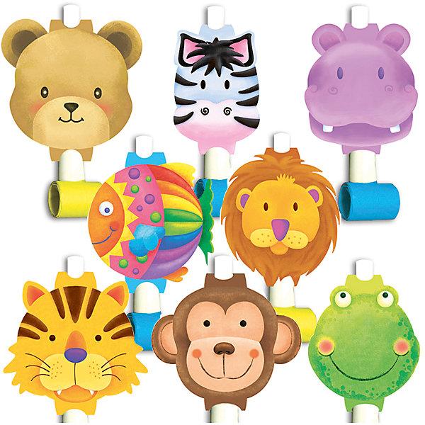 F Язычок-гудок с карточкой Забавные зверята 8штНовинки для праздника<br>Музыкальная игрушка - язычок-гудок. Игрушка разворачивается при направленном потоке воздуха и издает характерный звук. Данная игрушка является карнавальным аксессуаром в праздничной коллекции одноразовой посуды Забавные зверята. В упаковке содержится восемь язычков-гудков - ассорти.<br><br>Ширина мм: 30<br>Глубина мм: 200<br>Высота мм: 220<br>Вес г: 71<br>Возраст от месяцев: 60<br>Возраст до месяцев: 2147483647<br>Пол: Унисекс<br>Возраст: Детский<br>SKU: 7224741