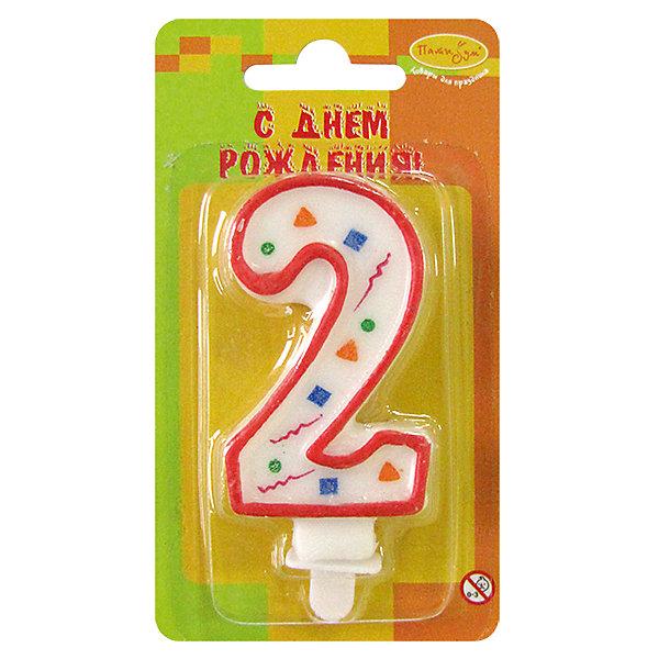 MC Свеча Цифра 2 Красное Конфетти 7смДетские свечи для торта<br>Декоративные свечи для торта. Оригинальные свечи в форме цифры 2. Отличное решение для праздничного украшения торта, оформления дессерта ко Дню рождения или юбилею. Свечи цифры для торта отличаются высоким качеством. Высота таких свечей для торта составляет 8см.<br><br>Ширина мм: 15<br>Глубина мм: 70<br>Высота мм: 130<br>Вес г: 22<br>Возраст от месяцев: 24<br>Возраст до месяцев: 2147483647<br>Пол: Унисекс<br>Возраст: Детский<br>SKU: 7224780