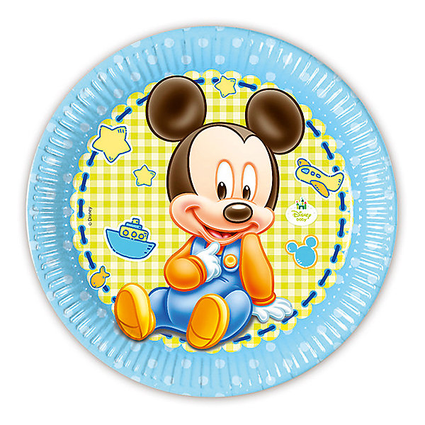 Pc 23см Тарелки бумажные ламинированные Малыш Микки 8штНовинки для праздника<br>Характеристики:<br><br>• возраст: от 3 лет;<br>• тип игрушки: тарелки;<br>• количество: 8 шт;<br>• размер тарелки: 20 см;<br>• вес: 64 гр;<br>• размеры: 20х20х0,5 см;<br>• материал: бумага;<br>• бренд: Патибум;<br>• страна производитель: Россия.<br><br>Тарелки бумажные ламинированные «Малыш Микки» 8шт подойдут для организации детской вечеринки, дня рождения и других праздников. Круглые тарелки выполнены из бумаги и имеют размер 20 см. Одноразовая посуда ламинирована для большей прочности. На них изображены яркие картинки. Данные тарелки входят в состав коллекции праздничной одноразовой посуды с изображением героев. Для стильного праздника можно использовать также другую посуду из этой серии в одной цветовой гамме.<br><br>Изделия выполнены из качественных материалов, предназначенных для детей возрастом от трех лет. Такая посуда в виде тарелочек станет отличным дополнением праздничного настроения. А эта  расцветка понравится  мальчикам и девочкам, увлеченным мультфильмом.<br> <br>Тарелки бумажные ламинированные «Малыш Микки» 8шт можно купить в нашем интернет-магазине.<br>Ширина мм: 230; Глубина мм: 230; Высота мм: 5; Вес г: 64; Возраст от месяцев: 36; Возраст до месяцев: 2147483647; Пол: Унисекс; Возраст: Детский; SKU: 7224848;