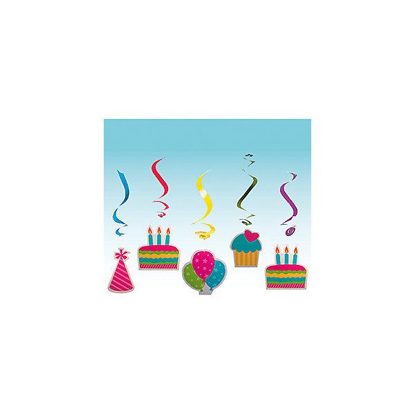 Q Подвеска бумажная С Днем Рождения-спираль 10см 5штНовинки для праздника<br>Характеристики:<br><br>• возраст: от 3 лет;<br>• тип игрушки: подвеска;<br>• вес: 41 гр;<br>• количество: 5 шт;<br>• размеры: 15х20х0,5 см;<br>• материал: бумага;<br>• бренд: Quanzhou;<br>• страна производитель: Китай.<br><br>Q Подвеска бумажная «С Днем Рождения-спираль» 10см 5шт – отличное украшение для детского праздника. Вечеринка, день рождения или другое торжество пройдет значительно веселее, если украсить помещение бумажными подвесками.  В наборе находится 5 спиралек из бумаги. На нем изображены яркие картинки, которые, несомненно, порадуют детей. <br><br>Подвеска от «Quanzhou» входит в большую коллекцию одноразовой посуды и аксессуаров для проведения детских праздников. Поэтому можно подготовиться к нему, украсив все в едином стиле. Тарелки, стаканы, салфетки и аксессуары с любимыми героями понравятся всем детям. Изделие выполнено из качественных материалов, предназначенных для детей возрастом от трех лет. <br><br>Q Подвеска бумажная «С Днем Рождения-спираль»  10см 5шт можно купить в нашем интернет-магазине.<br>Ширина мм: 150; Глубина мм: 200; Высота мм: 5; Вес г: 41; Возраст от месяцев: 36; Возраст до месяцев: 2147483647; Пол: Унисекс; Возраст: Детский; SKU: 7224879;