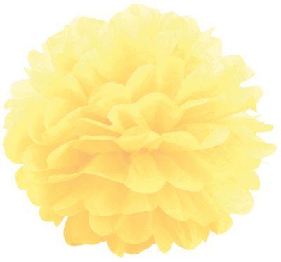 Патибум Q Помпон бумажный 20см желтый