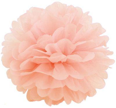 Патибум Q Помпон бумажный 20см персиковый