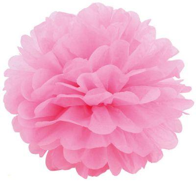 Патибум Q Помпон бумажный 20см розовый