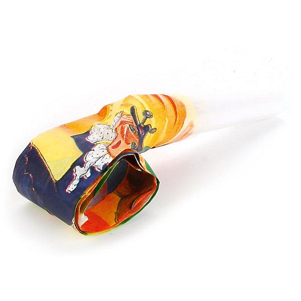Набор из 6-ти язычков-гудков дизайн ЧебурашкаДетские дудочки<br>Характеристики товара:<br><br>• возраст: от 3 лет;<br>• упаковка: пакет;<br>• размер упаковки: 16х15х3 см.;<br>• количество язычков: 6 шт;<br>• цвет: мультиколор;<br>• материал: пластик, бумага;<br>• бренд, страна-производитель: Веселый праздник, Россия.<br>                                                                                                                                                                                                                                                                                                              Язычки-гудки «Чебурашка» - набор из 6-ти забавных гудков добавит в детскую вечеринку каплю веселья. Они сделаны в форме язычков. Нужно сильно дунуть и свернутая в трубочку бумага выпрямиться с громким звуком. <br><br>А чтобы было интересней, на гудок нанесено изображение героев известного мультфильма «Чебурашка». Дети оценят аксессуар и не расстанутся с ним весь праздник.<br><br>Российский бренд Веселый праздник производит качественные товары для детского праздника, товар изготовлен из безопасных для здоровья ребенка материалов, прошедших соответствие европейским стандартам качества. <br><br>Язычки-гудки «Чебурашка», 6 шт.., Веселый праздник  можно купить в нашем интернет-магазине.<br>Ширина мм: 15; Глубина мм: 3; Высота мм: 16; Вес г: 40; Возраст от месяцев: 36; Возраст до месяцев: 168; Пол: Унисекс; Возраст: Детский; SKU: 7225703;