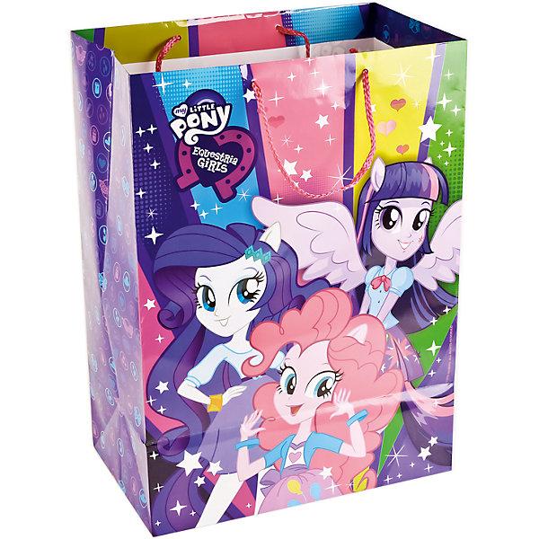 Пакет подарочный  EQUESTRIA GIRLS глянцевый  33Х46Х20 смДетские подарочные пакеты<br>Характеристики товара:<br><br>• возраст: от 3 лет;<br>• упаковка: пакет;<br>• размер пакета: 33х46х20 см.;<br>• цвет: мультиколор;<br>• материал: бумага;<br>• бренд, страна-производитель: Веселый праздник, Китай.<br>                                                                                                                                                                                                                                                                                                              Подарочный пакет «EQUESTRIA GIRLS» станет неотъемлемой частью детского подарка. Красочный пакет принесет ребенку радость предвкушения и ему будет интересно заглянуть в него, чтобы узнать, что же приготовили родные или друзья ему на день рождения, да и на любой другой праздник. <br><br>Такая упаковка подойдёт для большого подарка. Изделие выполненно из прочной глянцевой бумаги с красочным изображением.<br><br>Подарочный пакет «EQUESTRIA GIRLS», 33х46х20 см.., Веселый праздник  можно купить в нашем интернет-магазине.<br><br>Ширина мм: 33<br>Глубина мм: 20<br>Высота мм: 46<br>Вес г: 150<br>Возраст от месяцев: 36<br>Возраст до месяцев: 168<br>Пол: Унисекс<br>Возраст: Детский<br>SKU: 7225710
