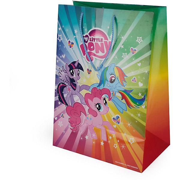 Пакет подарочный   MY LITTLE PONY  33Х46Х20 см бумажный глянцевыйДетские подарочные пакеты<br>Характеристики товара:<br><br>• возраст: от 3 лет;<br>• упаковка: пакет;<br>• размер пакета: 33х46х20 см.;<br>• цвет: мультиколор;<br>• материал: бумага;<br>• бренд, страна-производитель: Веселый праздник, Китай.<br>                                                                                                                                                                                                                                                                                                              Подарочный пакет «MY LITTLE PONY» станет неотъемлемой частью детского подарка. Красочный пакет принесет ребенку радость предвкушения и ему будет интересно заглянуть в него, чтобы узнать, что же приготовили родные или друзья ему на день рождения, да и на любой другой праздник. <br><br>Такая упаковка подойдёт для большого подарка. Изделие выполненно из прочной глянцевой бумаги с красочным изображением.<br><br>Подарочный пакет «MY LITTLE PONY», 33х46х20 см., Веселый праздник  можно купить в нашем интернет-магазине.<br><br>Ширина мм: 33<br>Глубина мм: 20<br>Высота мм: 46<br>Вес г: 150<br>Возраст от месяцев: 36<br>Возраст до месяцев: 168<br>Пол: Унисекс<br>Возраст: Детский<br>SKU: 7225717