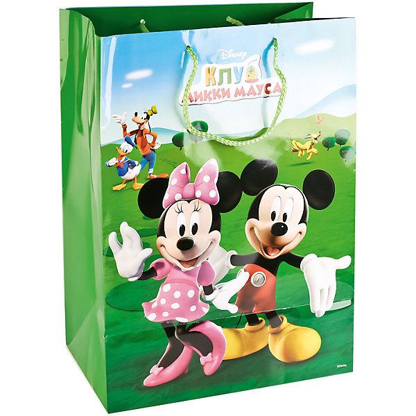 Пакет подарочный  МИККИ МАУС 33Х46Х20 см бумажный глянцевыйДетские подарочные пакеты<br>Характеристики товара:<br><br>• возраст: от 3 лет;<br>• упаковка: пакет;<br>• размер пакета: 33х46х20 см.;<br>• цвет: мультиколор;<br>• материал: бумага;<br>• бренд, страна-производитель: Веселый праздник, Китай.<br>                                                                                                                                                                                                                                                                                                              Подарочный пакет «МИККИ МАУС» станет неотъемлемой частью детского подарка. Красочный пакет принесет ребенку радость предвкушения и ему будет интересно заглянуть в него, чтобы узнать, что же приготовили родные или друзья ему на день рождения, да и на любой другой праздник. <br><br>Такая упаковка подойдёт для большого подарка. Изделие выполненно из прочной глянцевой бумаги с красочным изображением персонажей из одноименного мультфильма.<br><br>Подарочный пакет «МИККИ МАУС», 33х46х20 см.., Веселый праздник  можно купить в нашем интернет-магазине.<br>Ширина мм: 33; Глубина мм: 6; Высота мм: 46; Вес г: 150; Возраст от месяцев: 36; Возраст до месяцев: 168; Пол: Унисекс; Возраст: Детский; SKU: 7225720;