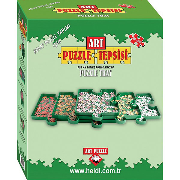 Сортировщик для пазлов Art Puzzle, 6 частейАксессуары для пазлов<br>Характеристики товара:<br><br>• возраст: от 7 лет;<br>• пол: мальчик, девочка;<br>• в комплекте: 6 коробочек из пластмассы;<br>• из чего сделана игрушка (состав): пластик;<br>• размер упаковки: 24x10x20 см;<br>• упаковка: картонная коробка;<br>• вес: 750 г.;<br>• страна изготовитель: Турция.<br><br>Сортировщик пазлов Art Puzzle- незаменимая вещь для головоломок.<br><br>Набор включает шесть коробочек из пластмассы в форме пазлов. Коробочки могут соединяться между собой, или ставиться друг на друга. Коробочки вмещают до 2000 пазлов. Набор просто необходим всем любителям пазлов.<br><br>Сортировщик пазлов бренда Art Puzzle можно купить в нашем интернет-магазине.<br><br>Ширина мм: 241<br>Глубина мм: 100<br>Высота мм: 202<br>Вес г: 750<br>Возраст от месяцев: 84<br>Возраст до месяцев: 2147483647<br>Пол: Унисекс<br>Возраст: Детский<br>SKU: 7226051