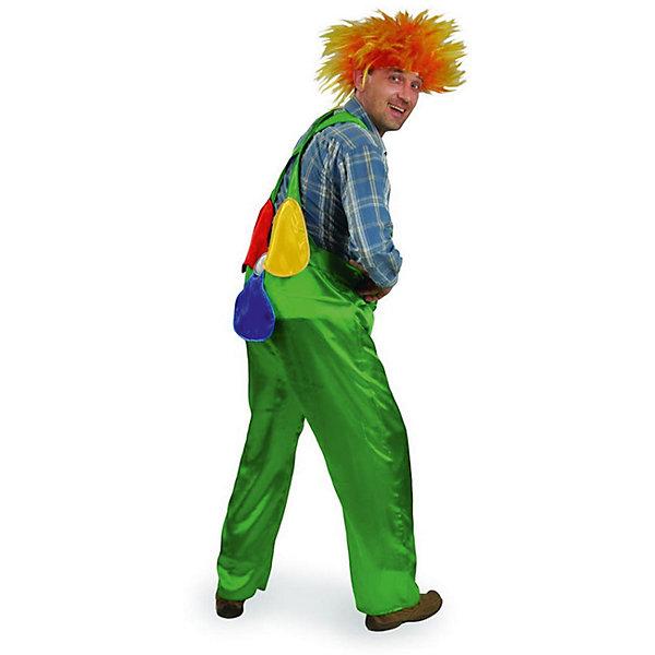 6018 Карнавальный костюм Карлсон (д/взр)  р.50Новинки для праздника<br>Полиэстр 100% Карнавальный костюм  (брюки с пропеллерром, парик)<br>Ширина мм: 450; Глубина мм: 80; Высота мм: 350; Вес г: 300; Возраст от месяцев: 192; Возраст до месяцев: 2147483647; Пол: Мужской; Возраст: Детский; SKU: 7226778;