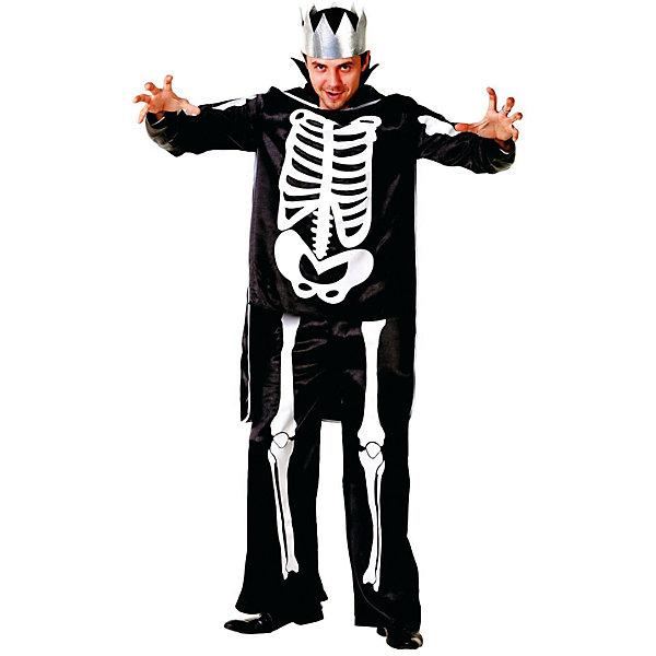 6008 Карнавальный костюм Кащей Бессмертный (д/взр) р.44-46Новинки для праздника<br>Полиэстр 100% Карнавальный костюм (куртка, плащ, корона)<br><br>Ширина мм: 450<br>Глубина мм: 80<br>Высота мм: 350<br>Вес г: 300<br>Возраст от месяцев: 192<br>Возраст до месяцев: 2147483647<br>Пол: Мужской<br>Возраст: Детский<br>SKU: 7226779