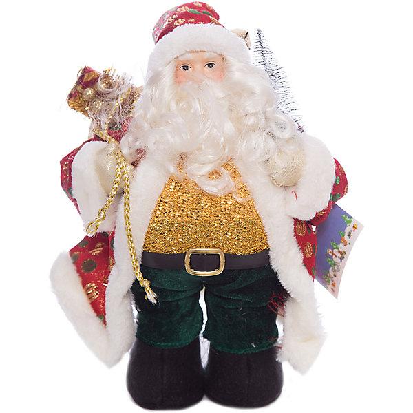 Дед Мороз, 35 см, в полибегеЁлочные игрушки<br>Дед Мороз, 35 см, в полибеге<br>Ширина мм: 150; Глубина мм: 200; Высота мм: 350; Вес г: 233; Возраст от месяцев: 36; Возраст до месяцев: 2147483647; Пол: Унисекс; Возраст: Детский; SKU: 7227796;