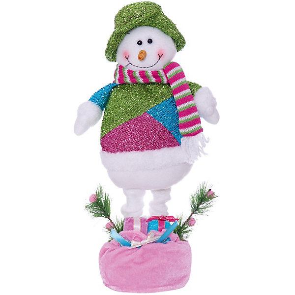 Снеговик с телескопическими ножками, 48 см, в полибегеЁлочные игрушки<br>Снеговик с телескопическими ножками, 48 см, в полибеге<br>Ширина мм: 180; Глубина мм: 250; Высота мм: 480; Вес г: 472; Возраст от месяцев: 36; Возраст до месяцев: 2147483647; Пол: Унисекс; Возраст: Детский; SKU: 7227801;