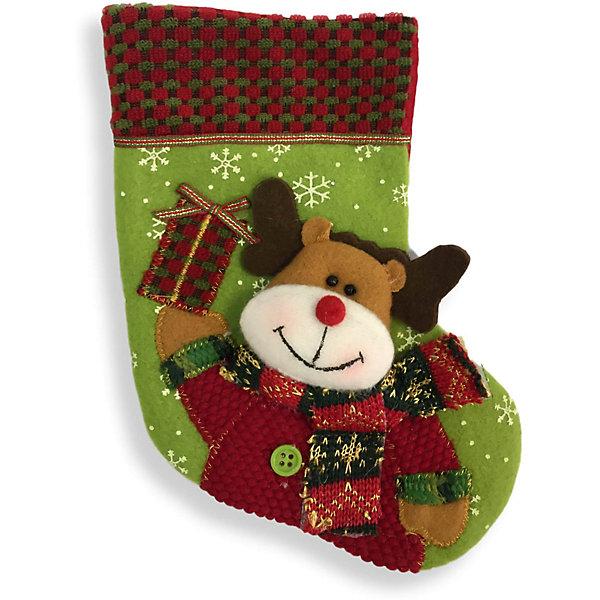 Рождественский носочек 23 см, 3 в ассортименте, в полибегеНовогодние носки<br>Рождественский носочек 23 см, 3 в ассортименте, в полибеге<br>Ширина мм: 20; Глубина мм: 150; Высота мм: 230; Вес г: 16; Возраст от месяцев: 36; Возраст до месяцев: 2147483647; Пол: Унисекс; Возраст: Детский; SKU: 7227803;