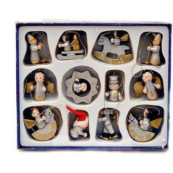 Деревянные фигурки,12штЁлочные игрушки<br>Характеристики:<br><br>• возраст: от 3 лет<br>• количество фигурок: 12 шт.<br>• материал: дерево<br>• размер упаковки: 15,5х12,7х2 см.<br>• вес: 49 гр.<br><br>Набор состоит из двенадцати разных фигурок с петельками для подвешивания. Фигурки изготовлены из дерева, отличаются долговечностью и безопасностью, их можно использовать в детских садах и домах с маленькими детьми для оформления новогодних елок.<br><br>Деревянные фигурки,12шт можно купить в нашем интернет-магазине.<br>Ширина мм: 20; Глубина мм: 155; Высота мм: 127; Вес г: 49; Возраст от месяцев: 36; Возраст до месяцев: 2147483647; Пол: Унисекс; Возраст: Детский; SKU: 7227824;