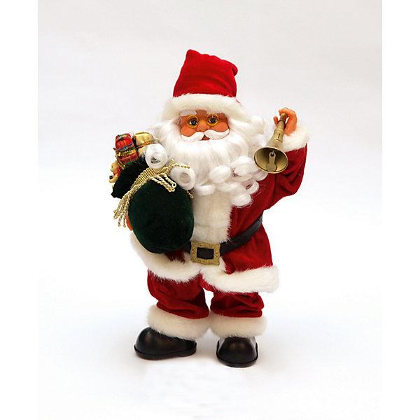 Дед мороз красный интерактивный музыкальныйНовинки Новый Год<br>Дед мороз красный интерактивный музыкальный с подарком и звоночком 36 см, двигает рукой и ногой, коробка с окошком<br><br>Ширина мм: 200<br>Глубина мм: 170<br>Высота мм: 360<br>Вес г: 688<br>Возраст от месяцев: 36<br>Возраст до месяцев: 2147483647<br>Пол: Унисекс<br>Возраст: Детский<br>SKU: 7227848