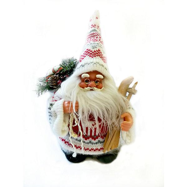 Дед мороз красно-белый  с лыжами и подаркамиНовинки Новый Год<br>Дед мороз красно-белый  с лыжами и подарками, интерактивный музыкальный идущий 18 см, коробка с окошком<br><br>Ширина мм: 130<br>Глубина мм: 90<br>Высота мм: 180<br>Вес г: 250<br>Возраст от месяцев: 36<br>Возраст до месяцев: 2147483647<br>Пол: Унисекс<br>Возраст: Детский<br>SKU: 7227854