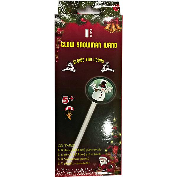 Неоновая светящаяся волшебная палочка со снеговикомНовинки Новый Год<br>Неоновая светящаяся волшебная палочка со снеговиком, 1 светящаяся палочка 15 см, 1 шт - 20 см, в цветном полибеге, 36 штук во внутренней упаковке<br><br>Ширина мм: 15<br>Глубина мм: 110<br>Высота мм: 260<br>Вес г: 31<br>Возраст от месяцев: 60<br>Возраст до месяцев: 2147483647<br>Пол: Унисекс<br>Возраст: Детский<br>SKU: 7227874