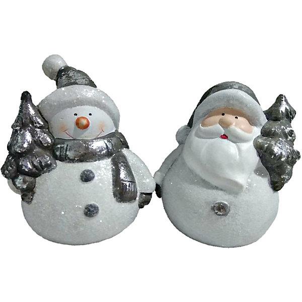 Новогоднее украшение - Дед Мороз/Снеговик с ёлкой, 10 см, 2Ёлочные игрушки<br>Характеристики:<br><br>• возраст: от 3 лет<br>• высота фигурки: 10 см.<br>• в ассортименте 2 вида<br>• ВНИМАНИЕ! Данный артикул представлен в разных вариантах исполнения. К сожалению, заранее выбрать определенный вариант невозможно. При заказе нескольких украшений возможно получение одинаковых<br><br>Новогоднее украшение в виде Деда Мороза или Снеговика с ёлкой станет замечательным презентом коллеге и другу, а также милым аксессуаром в праздничном интерьере.<br><br>Новогоднее украшение - Дед Мороз/Снеговик с ёлкой, 10 см, 2 в ассортименте можно купить в нашем интернет-магазине.<br>Ширина мм: 70; Глубина мм: 70; Высота мм: 100; Вес г: 100; Возраст от месяцев: 36; Возраст до месяцев: 2147483647; Пол: Унисекс; Возраст: Детский; SKU: 7227899;