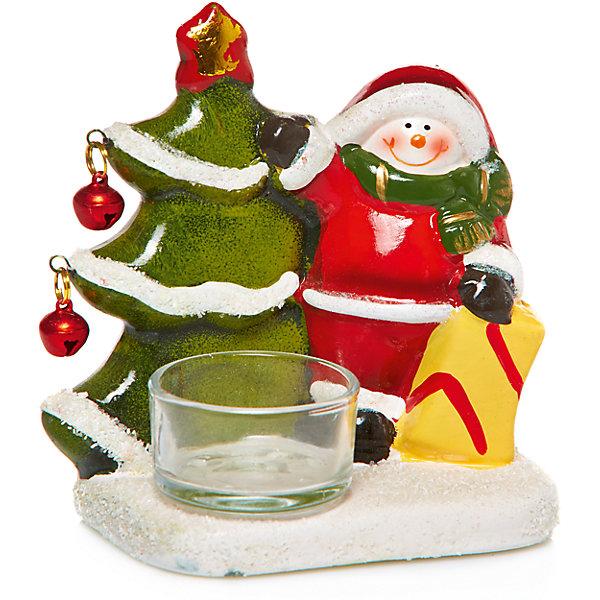 Купить Дед мороз с ёлкой-подсвечник, 10.1 x 6.6 x 11 см, MAG2000, Китай, Унисекс