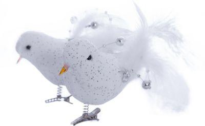 MAG2000 Набор птичек с декором 2шт*9см в пвх боксе