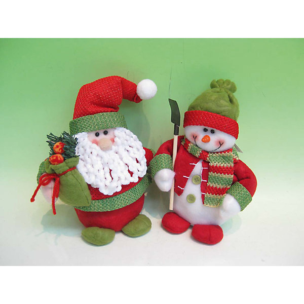 Купить Дед мороз и снеговик 18 см, MAG2000, Китай, Унисекс