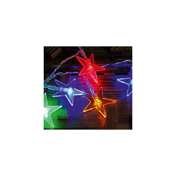 Светодиодная гирлянда, 20Л-220V, размеры звездочек: 5*5см, внутренняяНовогодние электрогирлянды<br>Характеристики:<br><br>• возраст: от 3 лет<br>• количество лампочек: 20 шт.<br>• размер звездочек: 5х5 см.<br>• напряжение: 220 В.<br><br>Электрическая светодиодная гирлянда предназначена для внутреннего декоративного освещения. Изделие представляет собой гибкий провод, на котором расположены разноцветные светодиоды с насадками в форме звезд. Гирлянда яркая и долговечная, имеет маленькое энергопотребление. Она позволит создать атмосферу праздника, веселья и новогодней сказки.<br><br>Светодиодную гирлянду, 20Л-220V, размеры звездочек: 5*5см, внутреннюю можно купить в нашем интернет-магазине.<br>Ширина мм: 70; Глубина мм: 140; Высота мм: 80; Вес г: 100; Возраст от месяцев: 36; Возраст до месяцев: 2147483647; Пол: Унисекс; Возраст: Детский; SKU: 7227961;