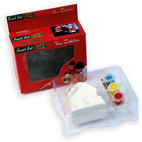 Набор для детского творчества, домик, 3 краски, коробка с окошком 6.8x4.3x8.5смНовинки Новый Год<br>Набор для детского творчества, домик, 3 краски, коробка с окошком 6.8x4.3x8.5см<br><br>Ширина мм: 80<br>Глубина мм: 120<br>Высота мм: 95<br>Вес г: 141<br>Возраст от месяцев: 36<br>Возраст до месяцев: 2147483647<br>Пол: Унисекс<br>Возраст: Детский<br>SKU: 7227969