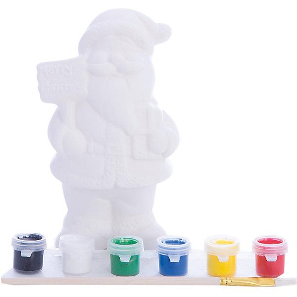 Набор для детского творчества, керамика, дед мороз 8,5*6,5*14 см, 6 красок, в синей коробке 15*6*17 смНовинки Новый Год<br>Набор для детского творчества, керамика, дед мороз 8,5*6,5*14 см, 6 красок, в синей коробке 15*6*17 см<br><br>Ширина мм: 60<br>Глубина мм: 150<br>Высота мм: 170<br>Вес г: 139<br>Возраст от месяцев: 36<br>Возраст до месяцев: 2147483647<br>Пол: Унисекс<br>Возраст: Детский<br>SKU: 7227976