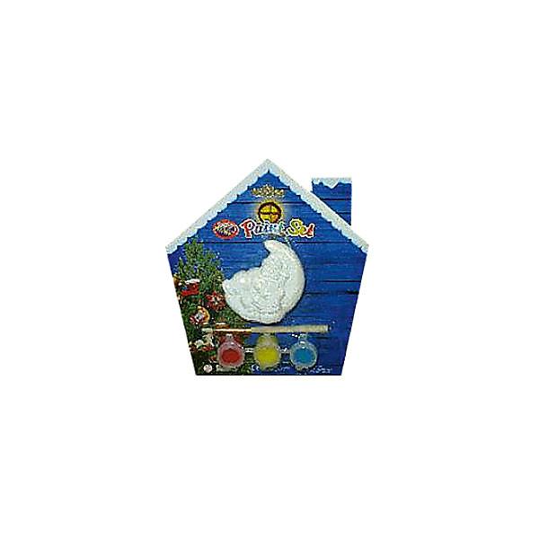 Набор для детского творчества, керамика, месяц - 7*3*7 см, 3 краски, в синей коробке  14*14 смНаборы для творчества новогодние<br>Характеристики:<br><br>• возраст: от 3 лет<br>• в наборе: фигурка в виде месяца, краски 3 цвета, кисть<br>• размер фигурки: 7х3х7 см.<br>• материал: керамика<br>• упаковка: картонная коробка синего цвета<br>• размер упаковки: 14х14 см.<br><br>Набор поможет ребенку творчески провести досуг и создаст праздничное настроение. В наборе керамическая фигурка в виде месяца, которую малыш может раскрасить по своему вкусу.<br><br>Раскрашивать изделия из керамики - очень интересно и увлекательно. Фигурка, раскрашенная вручную, станет отличным подарком.<br><br>Работа набором помогает развить творческие способности, усидчивость, внимательность, самостоятельность, координацию движений.<br><br>Набор для детского творчества, керамика, месяц - 7*3*7 см, 3 краски, в синей коробке  14*14 см можно купить в нашем интернет-магазине.<br>Ширина мм: 32; Глубина мм: 140; Высота мм: 140; Вес г: 50; Возраст от месяцев: 36; Возраст до месяцев: 2147483647; Пол: Унисекс; Возраст: Детский; SKU: 7227983;