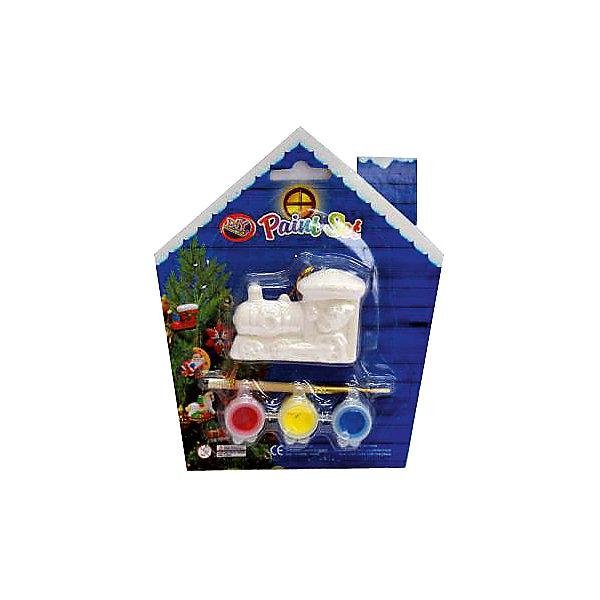 Набор для детского творчества, керамика, паравоз 6,5*4,5*2,3 см, 3 краски, в синей коробке  14*14 смНаборы для творчества<br>Характеристики:<br><br>• возраст: от 3 лет<br>• в наборе: фигурка в виде паровоза, краски 3 цвета, кисть<br>• размер фигурки: 6,5х4,5х2,3 см.<br>• материал: керамика<br>• упаковка: картонная коробка синего цвета<br>• размер упаковки: 14х14 см.<br><br>Набор поможет ребенку творчески провести досуг и создаст праздничное настроение. В наборе керамическая фигурка в виде паровоза, которую малыш может раскрасить по своему вкусу.<br><br>Раскрашивать изделия из керамики - очень интересно и увлекательно. Фигурка, раскрашенная вручную, станет отличным подарком.<br><br>Работа набором помогает развить творческие способности, усидчивость, внимательность, самостоятельность, координацию движений.<br><br>Набор для детского творчества, керамика, паровоз 6,5*4,5*2,3 см, 3 краски, в синей коробке  14*14 см можно купить в нашем интернет-магазине.<br>Ширина мм: 47; Глубина мм: 140; Высота мм: 140; Вес г: 50; Возраст от месяцев: 36; Возраст до месяцев: 2147483647; Пол: Унисекс; Возраст: Детский; SKU: 7227984;