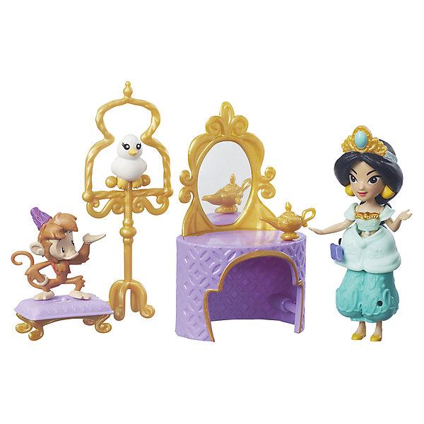 Игровой набор Маленькая кукла Принцесса и сцена из фильма, Принцессы Дисней, HasbroПринцессы Игрушки<br><br><br>Ширина мм: 56<br>Глубина мм: 225<br>Высота мм: 200<br>Вес г: 358<br>Возраст от месяцев: 48<br>Возраст до месяцев: 96<br>Пол: Женский<br>Возраст: Детский<br>SKU: 7228348