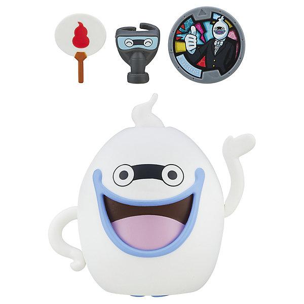Меняющаяся фигурка Hasbro Yo-Kai Watch, Виспер с медальюИгровые наборы с фигурками<br>Характеристики товара:<br><br>• возраст: от 4 лет;<br>• материал: пластик;<br>• размер упаковки: 26,3х19,7х8,6 см;<br>• вес упаковки: 179 гр.;<br>• страна производитель: Китай.<br><br>Меняющаяся фигурка Yo-kai Watch Hasbro представляет собой одного из персонажей мультфильма. Удивительная особенность фигурки — возможность трансформироваться из одного персонажа в другого парой простых движений. В набор входи медаль, отсканировав которую приложением на смартфоне, можно будет видеть духов.<br><br>Меняющуюся фигурку Yo-kai Watch Hasbro можно приобрести в нашем интернет-магазине.<br><br>Ширина мм: 263<br>Глубина мм: 197<br>Высота мм: 86<br>Вес г: 179<br>Возраст от месяцев: 48<br>Возраст до месяцев: 120<br>Пол: Мужской<br>Возраст: Детский<br>SKU: 7228355