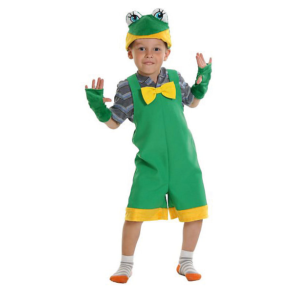 Костюм Лягушонок, ткань-плюш, рост 92-122 смКарнавальные костюмы для мальчиков<br>Карнавальный костюм Лягушонок пригодится во время детских утренников и даст ребенку возможность быть в центре внимания. Наряд отличается забавным дизайном, привлекательной расцветкой и высоким качеством исполнения. Замечательный костюм подарит крохе море ярких впечатлений и массу положительных эмоций.<br><br>Ширина мм: 270<br>Глубина мм: 50<br>Высота мм: 300<br>Вес г: 360<br>Возраст от месяцев: 36<br>Возраст до месяцев: 60<br>Пол: Мужской<br>Возраст: Детский<br>SKU: 7228430