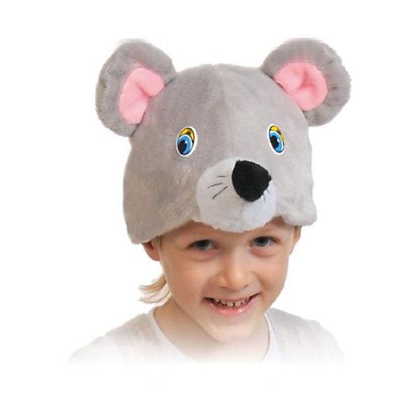 Маска МышонокДетские шляпы и колпаки<br>Маска Мышонок сделана в виде шапочки, позволит ребенку примерить на себя образ мышки. К такой шапочке не составит труда подобрать подходящий костюм из вещей, имеющихся в гардеробе каждого ребенка. Маска может использоваться на детских утренниках, в школьных спектаклях, а также на новогодних праздниках.<br><br>Ширина мм: 200<br>Глубина мм: 30<br>Высота мм: 260<br>Вес г: 70<br>Возраст от месяцев: 36<br>Возраст до месяцев: 144<br>Пол: Унисекс<br>Возраст: Детский<br>SKU: 7228446