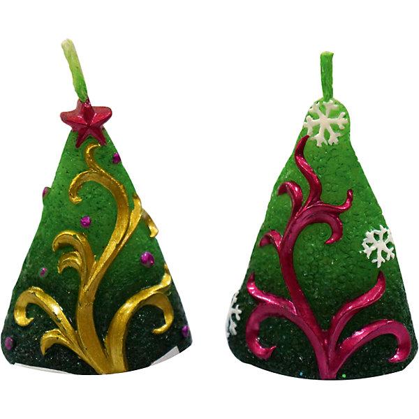 Свеча Елочка 5,5 см, в ассорт.Новогодние свечи и подсвечники<br>Свеча декоративная фигурная в виде елочки. Предназначена для украшения интерьера. Высота свечи 5,5 см. Представлена в разных цветовых вариантах.<br><br>Ширина мм: 28<br>Глубина мм: 25<br>Высота мм: 65<br>Вес г: 20<br>Возраст от месяцев: 36<br>Возраст до месяцев: 2147483647<br>Пол: Унисекс<br>Возраст: Детский<br>SKU: 7228464