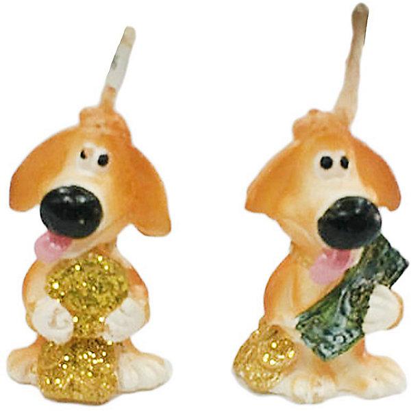 Свеча Собачка денежн. 3,5 см. в ассорт.Новогодние свечи и подсвечники<br>Характеристики:<br><br>• возраст: 3+;<br>• форма свечи: собачка;<br>• материал: парафин;<br>• количество: 1 шт;<br>• размер свечи: 3,5 см;<br>• масса: 20 г.<br><br>Декоративные свечи в виде фигурок собачки помогут создать атмосферу праздника. Свечи можно использовать в качестве сувенира, а также при декорировании помещения и праздничного стола.<br><br>Красивая денежная собачка символизирует достаток в доме и приносит финансовое благополучие своему хозяину. Свеча изготовлена из качественного парафина. Для поджигания есть длинный фитиль.<br><br>Свеча «Собачка денежная», 3,5 см, (в ассортименте), «Новогодняя сказка» можно купить в нашем интернет-магазине.<br><br>Ширина мм: 25<br>Глубина мм: 20<br>Высота мм: 35<br>Вес г: 20<br>Возраст от месяцев: 36<br>Возраст до месяцев: 2147483647<br>Пол: Унисекс<br>Возраст: Детский<br>SKU: 7228468