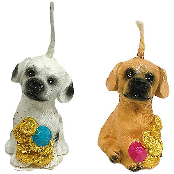 Свеча Собачка денежн. 4 см, в ассорт.Новогодние свечи и подсвечники<br>Характеристики:<br><br>• возраст: 3+;<br>• форма свечи: собачка;<br>• материал: парафин;<br>• количество: 1 шт;<br>• размер свечи: 4 см;<br>• масса: 10 г.<br><br>Декоративные свечи в виде фигурок собачки помогут создать атмосферу праздника. Свечи можно использовать в качестве сувенира, а также при декорировании помещения и праздничного стола.<br><br>Красивая денежная собачка символизирует достаток в доме и приносит финансовое благополучие своему хозяину. Свеча изготовлена из качественного парафина. Для поджигания есть длинный фитиль.<br><br>Свеча «Собачка денежная», 4 см, (в ассортименте), «Новогодняя сказка» можно купить в нашем интернет-магазине.<br><br>Ширина мм: 30<br>Глубина мм: 25<br>Высота мм: 40<br>Вес г: 10<br>Возраст от месяцев: 36<br>Возраст до месяцев: 2147483647<br>Пол: Унисекс<br>Возраст: Детский<br>SKU: 7228469