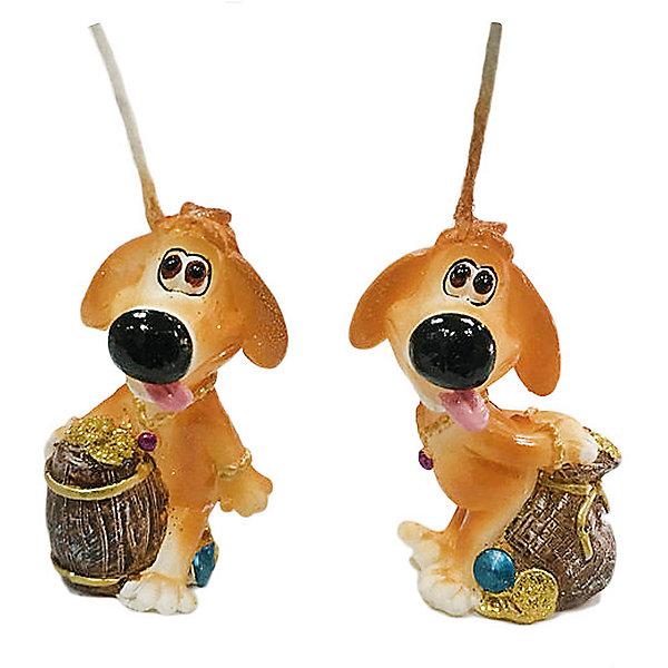 Свеча Собачка денежн. 5 см, в ассорт.Новогодние свечи и подсвечники<br>Характеристики:<br><br>• возраст: 3+;<br>• форма свечи: собачка;<br>• материал: парафин;<br>• количество: 1 шт;<br>• размер свечи: 5 см;<br>• масса: 20 г.<br><br>Декоративные свечи в виде фигурок собачки помогут создать атмосферу праздника. Свечи можно использовать в качестве сувенира, а также при декорировании помещения и праздничного стола.<br><br>Красивая денежная собачка символизирует достаток в доме и приносит финансовое благополучие своему хозяину. Свеча изготовлена из качественного парафина. Для поджигания есть длинный фитиль.<br><br>Свеча «Собачка денежная», 5 см, (в ассортименте), «Новогодняя сказка» можно купить в нашем интернет-магазине.<br><br>Ширина мм: 25<br>Глубина мм: 25<br>Высота мм: 50<br>Вес г: 20<br>Возраст от месяцев: 36<br>Возраст до месяцев: 2147483647<br>Пол: Унисекс<br>Возраст: Детский<br>SKU: 7228470