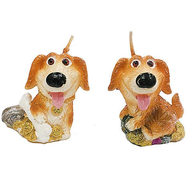 Свеча Собачка жизнь удалась 5 см, в ассорт.Новогодние свечи и подсвечники<br>Характеристики:<br><br>• возраст: 3+;<br>• форма свечи: собачка;<br>• материал: парафин;<br>• количество: 1 шт;<br>• размер свечи: 5 см;<br>• масса: 30 г.<br><br>Декоративные свечи в виде фигурок собачки помогут создать атмосферу праздника. Свечи можно использовать в качестве сувенира, а также при декорировании помещения и праздничного стола.<br><br>Красивая денежная собачка символизирует достаток в доме и приносит финансовое благополучие своему хозяину. Свеча изготовлена из качественного парафина. Для поджигания есть длинный фитиль.<br><br>Свеча «Собачка жизнь удалась», 5 см, (в ассортименте), «Новогодняя сказка» можно купить в нашем интернет-магазине.<br><br>Ширина мм: 25<br>Глубина мм: 25<br>Высота мм: 50<br>Вес г: 30<br>Возраст от месяцев: 36<br>Возраст до месяцев: 2147483647<br>Пол: Унисекс<br>Возраст: Детский<br>SKU: 7228473