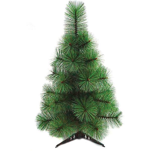 Сосна искусствен. 90 смИскусственные ёлки<br>Характеристики:<br><br>• материал: пластик;<br>• цвет: зеленый;<br>• высота елки: 90 см;<br>• размеры: 17х17х92 см;<br>• масса: 880 г.<br><br>Декоративная елочка подойдет для украшения дома, детского сада или офиса. Маленькое деревце поместится даже на столе. Новогодняя елка изготовлена из качественного пластика зеленого цвета. Пушистые ветки выглядят очень реалистично.<br><br>Устойчивая ножка крепится к основанию. Все украшения будут прочно удерживаться на ветках. Елку можно компактно сложить для хранения.<br><br>Сосна искусственная 90 см, «Новогодняя сказка» можно купить в нашем интернет-магазине.<br>Ширина мм: 200; Глубина мм: 200; Высота мм: 900; Вес г: 800; Возраст от месяцев: 36; Возраст до месяцев: 2147483647; Пол: Унисекс; Возраст: Детский; SKU: 7228481;