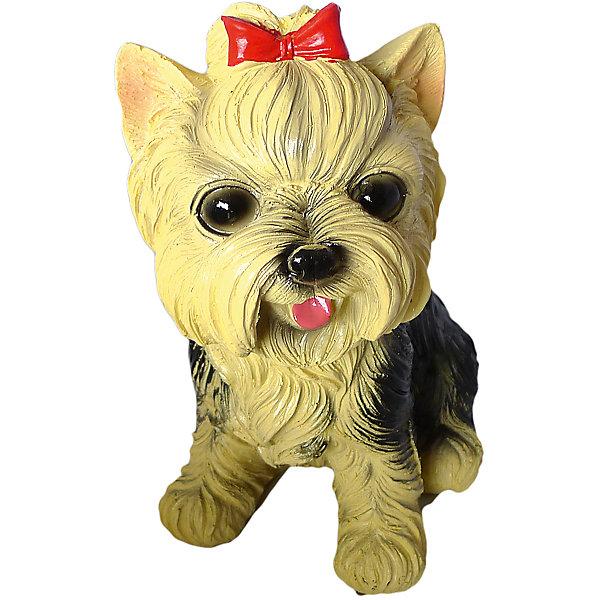 Сувенир копилка Собака 17,5 смНовогодние сувениры<br>Характеристики:<br><br>• возраст: 3+;<br>• форма сувенира: собака;<br>• особенности: копилка;<br>• количество: 1 шт;<br>• размер сувенира: 17,5 см;<br>• масса: 340 г.<br><br>Декоративная копилка выполнена в виде небольшой собачки. Сувенир можно подарить мальчику или девочке на праздник. <br><br>Милый щенок дополнит коллекцию декоративных игрушек. Сувенир не только будет украшать детскую комнату, но и поможет научить ребенка копить личные деньги. Копилка достаточно вместительна, поэтому монеты можно собирать долго.<br><br>Сувенир копилка «Собака», 17,5 см, «Новогодняя сказка» можно купить в нашем интернет-магазине.<br><br>Ширина мм: 130<br>Глубина мм: 70<br>Высота мм: 175<br>Вес г: 340<br>Возраст от месяцев: 36<br>Возраст до месяцев: 2147483647<br>Пол: Унисекс<br>Возраст: Детский<br>SKU: 7228485