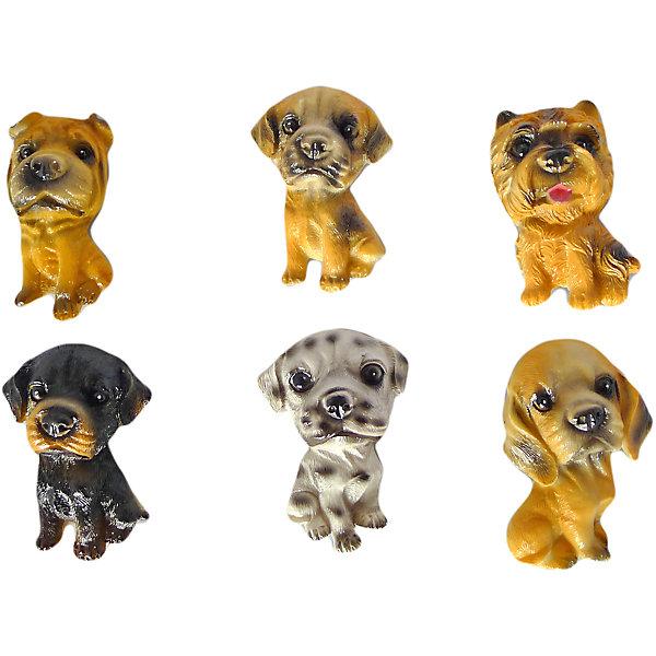 Сувенир магнит. Собачка 6 см, в ассорт.Новогодние сувениры<br>Характеристики:<br><br>• возраст: 3+;<br>• форма сувенира: собака;<br>• особенности: магнит;<br>• количество: 1 шт;<br>• размер сувенира: 6 см;<br>• масса: 30 г.<br><br>Декоративная статуэтка выполнена в виде небольшой собачки. Сувенир можно подарить мальчику или девочке на праздник. Дети будут рады приобрести маленького друга.<br><br>Милый щенок украсит коллекцию декоративных игрушек. При помощи специального магнита на обратной стороне фигурки щенок крепится к холодильнику или магнитной доске. Собачка детально проработана, поэтому выглядит очень реалистично.<br><br>Сувенир магнит «Собачка», 6 см, (в ассортименте), «Новогодняя сказка» можно купить в нашем интернет-магазине.<br><br>Ширина мм: 45<br>Глубина мм: 10<br>Высота мм: 60<br>Вес г: 30<br>Возраст от месяцев: 36<br>Возраст до месяцев: 2147483647<br>Пол: Унисекс<br>Возраст: Детский<br>SKU: 7228488